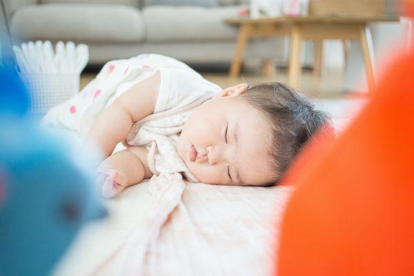 子供の寝相