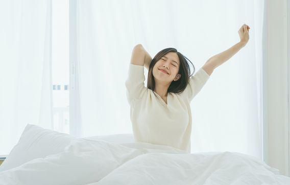 高反発マットレス寝起き